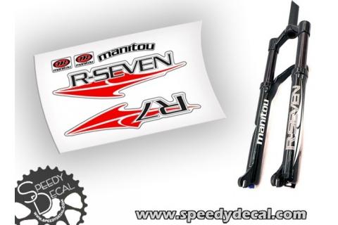 Manitou R-Seven R7 - adesivi personalizzati per forcella