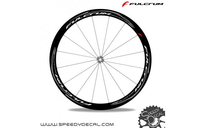 Fulcrum Racing Quattro DB Carbon disc - adesivi per ruote