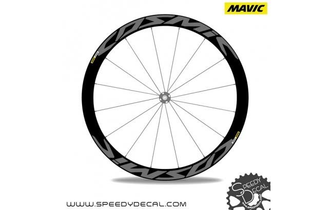 Mavic Cosmic Pro Carbon disc 2017 - adesivi per ruote