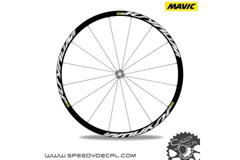 Mavic Ksyrium Pro Disc - adesivi per ruote