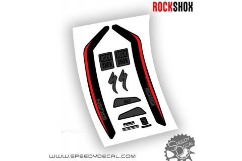 Rock shox RS-1 Brain 2017 - adesivi per forcella