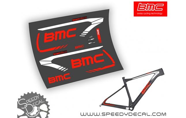BMC Teamelite 01 / Teamelite 02 - kit adesivi telaio