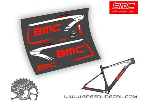 BMC teamelite 01 02 - kit adesivi telaio