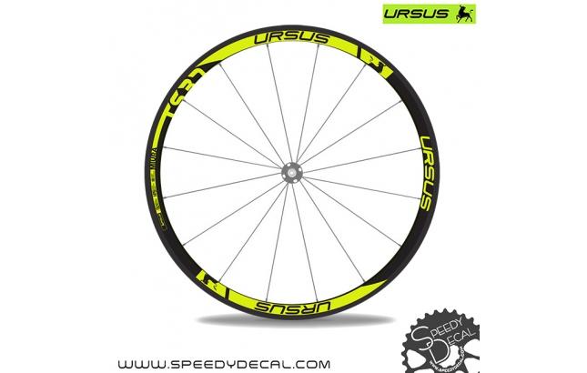 Ursus Miura TS37 - adesivi per ruote
