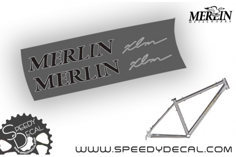 Merlin XLM - kit adesivi telaio