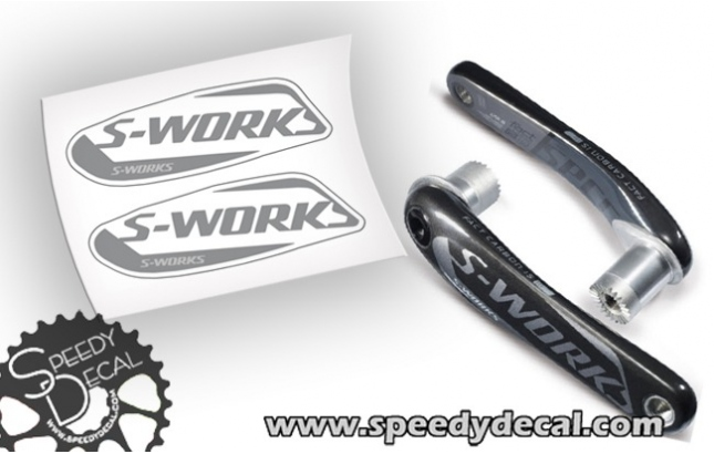 Specialized S-works fact carbon road - adesivi per pedivelle