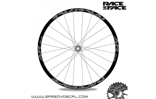 Race Face AR 24 - adesivi personalizzati per ruote