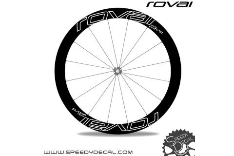Roval Rapide CLX 50 Disc - adesivi per ruote