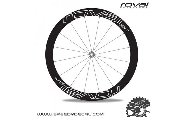 Roval Rapide CLX 64 Disc - adesivi per ruote