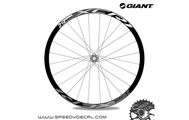 Giant XCR1 - adesivi per ruote