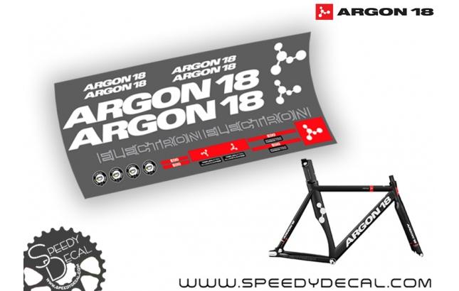 Argon 18 Electron - kit adesivi telaio