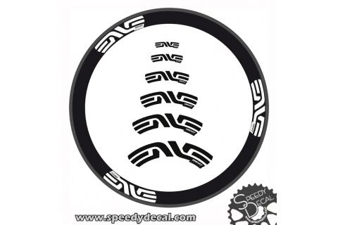 Smart ENVE System 3.4  6.7 - adesivi personalizzati per ruote strada