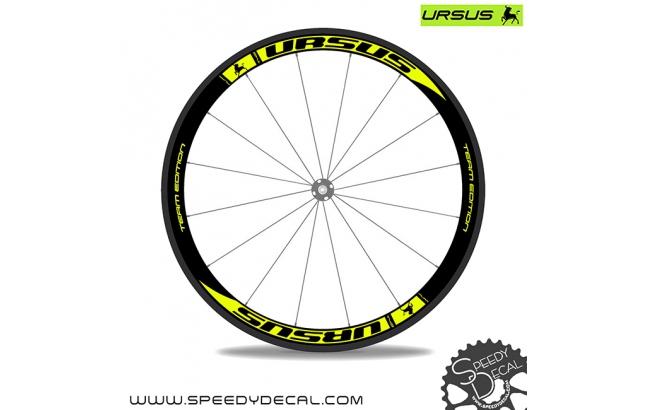 Ursus Miura T45 Team Edition - adesivi per ruote