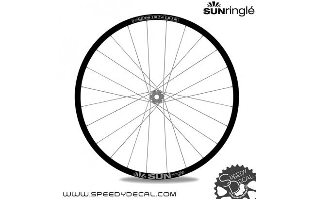 Sun Ringle Duroc 35 - adesivi per ruote