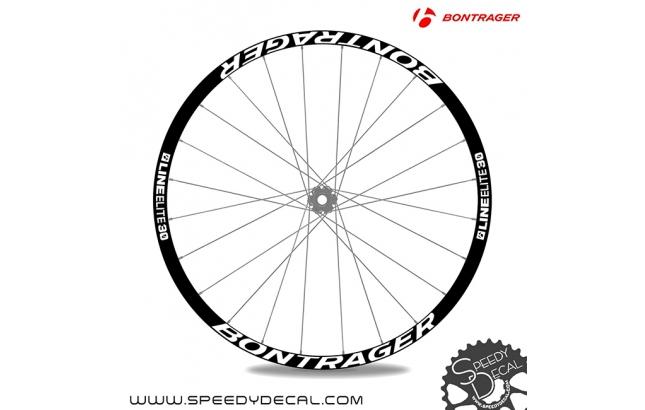 Bontrager Line Elite 30 - adesivi per ruote