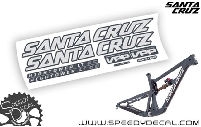 Santa Cruz Hightower LT C / CC 2018 - kit adesivi telaio