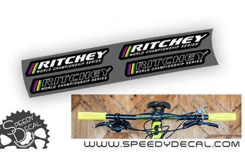 Ritchey world champion series - adesivi per manubrio