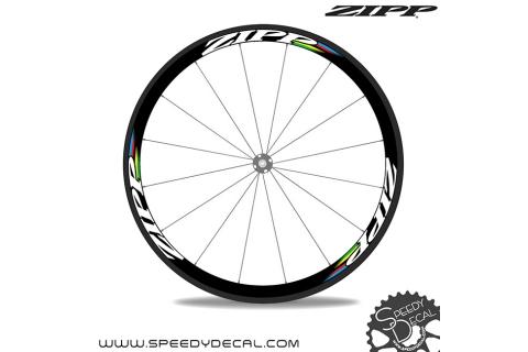 Zipp Iridati world champion -  adesivi per ruote