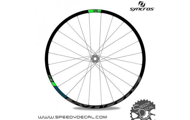 Syncros XR-RC - adesivi per ruote
