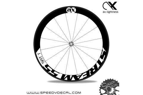 Ax Lightness Stream 55 - adesivi per ruote