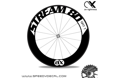 Ax Lightness Stream 80- adesivi per ruote
