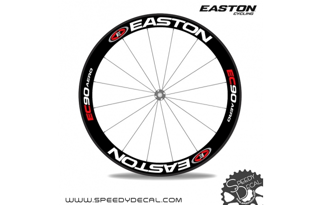 Easton EC90 Aero - adesivi per ruote