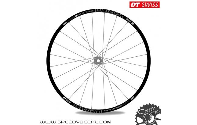 "DT Swiss X1700 Spline 2 27.5"" - adesivi per ruote"
