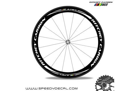 Ritchey Carbon Apex - adesivi per ruote