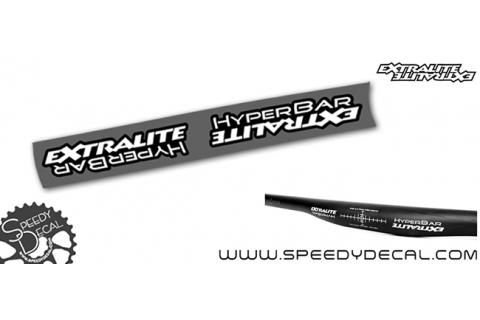 Extralite Hyperbar - adesivi per manubrio
