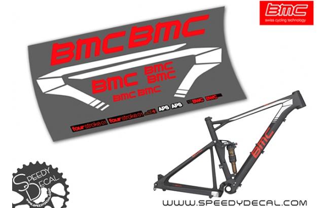 BMC Four Stroke 01 - kit adesivi telaio