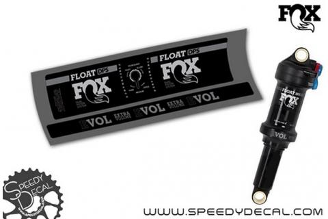 Fox Float DPS Performance 2018 - adesivi per ammortizzatore posteriore