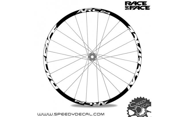 Race Face ARC 24  - adesivi personalizzati per ruote