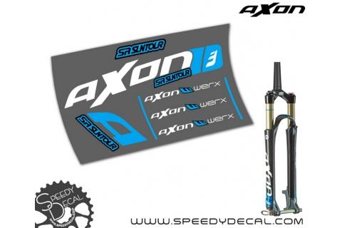 Suntour Axon Werx - adesivi per forcella