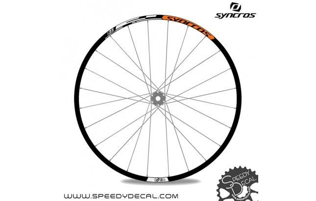 """Syncros X-23 27.5"""" - adesivi per ruote"""