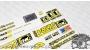 Cannondale F2000 caad 5 fatty ultra - adesivi personalizzati per telaio