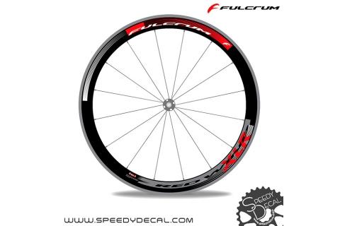 Fulcrum Red Wind XLR - adesivi per ruote