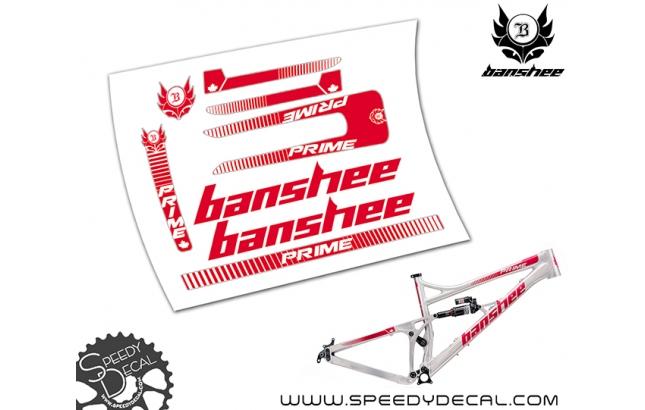 Banshee Prime 2018 - kit adesivi telaio