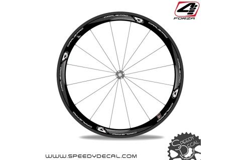 4ZA Forza Cirrus Pro C45 - adesivi per ruote