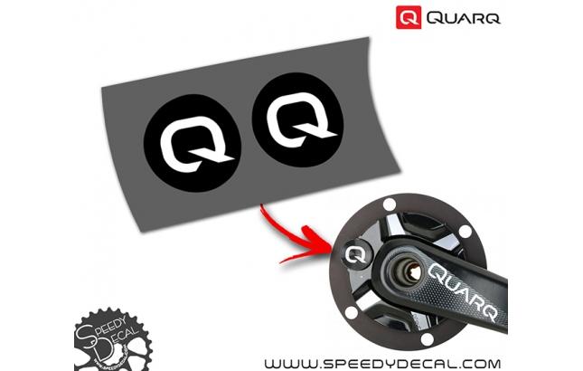 Quarq - adesivi per misuratore di potenza