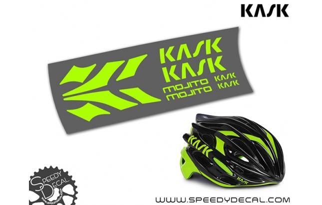 Kask Mojito - kit completo di adesivi per casco