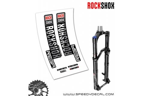 Rock shox Reba  / RL anno 2018 - adesivi per forcella