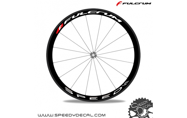 Fulcrum Speed 40T Pro Team  - adesivi per ruote