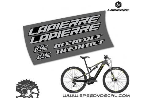 Lapierre Overvolt XC500i - kit adesivi telaio