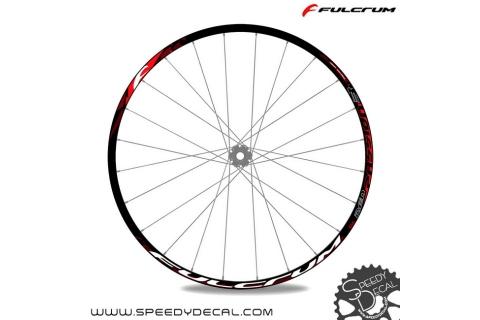 Fulcrum Red Passion 3 29er - adesivi per ruote