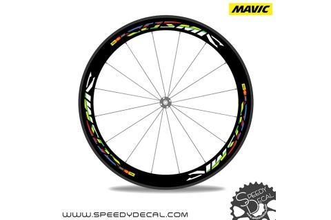 Mavic Cosmic World Champions - adesivi per ruote