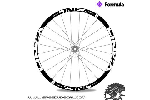 Formula Linea 3 - adesivi per ruote