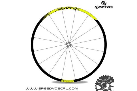 Syncros ATD490 Disc - adesivi per ruote