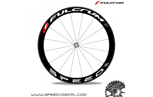 Fulcrum Speed 55T Team Edition 2018 - adesivi per ruote