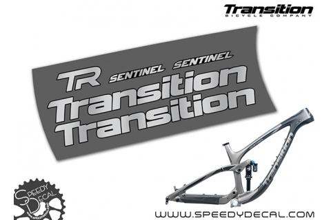 Transition Sentinel 2018 - kit adesivi telaio
