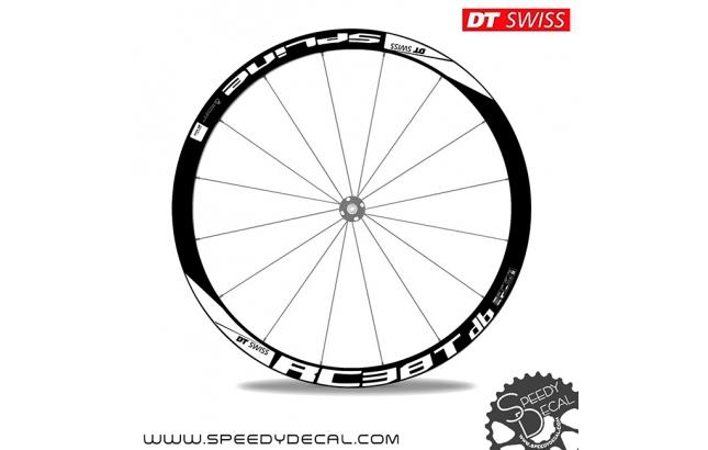 DT Swiss Spline RC 38 T db Disc - adesivi per ruote